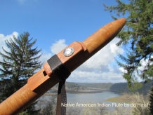 native American indian flute by dg Hatch